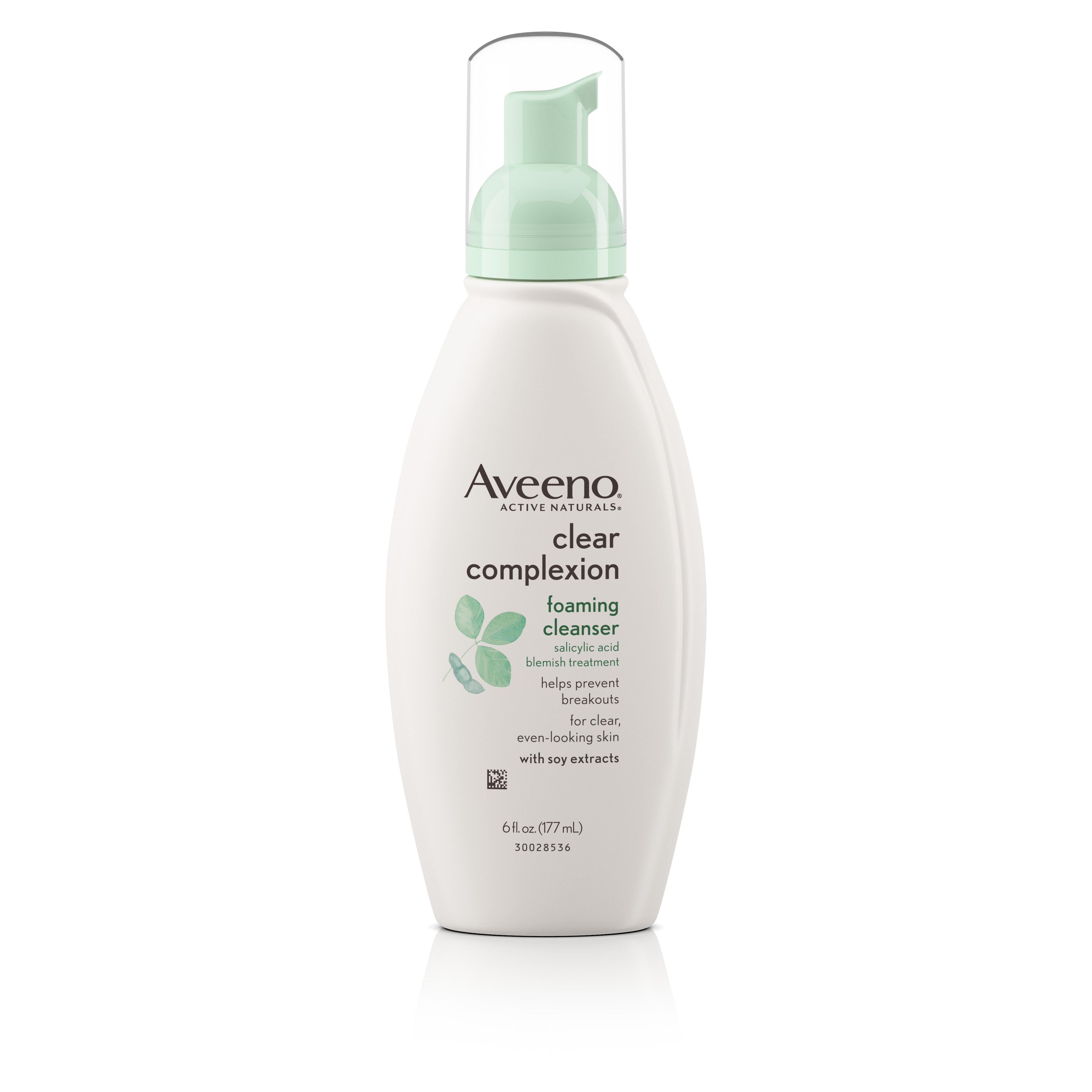 Aveeno Clear Complexion Foaming Facial Cleanser, 6 Fl. Oz - Walmart.com