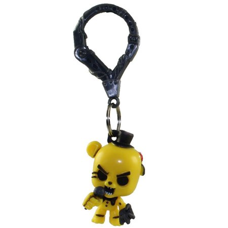 Fnaf Officially Licensed Five Nights At Freddys 3  Figure Hangers Golden Freddy Fazbear  Chase Figure