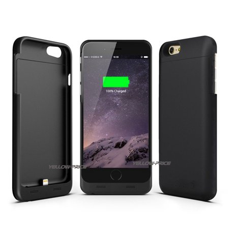 LivEditor Top Ultra Power Bank Battery Charger Phone Case Cover For iPhone 6 Plus, 6S Plus - image 6 de 7