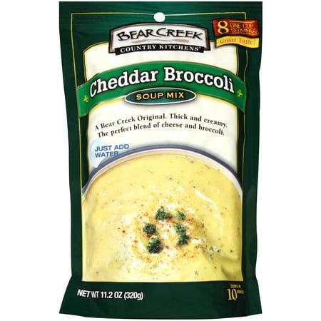Bear Creek Country Kitchens Cheddar Broccoli Soup Mix, 11 ...