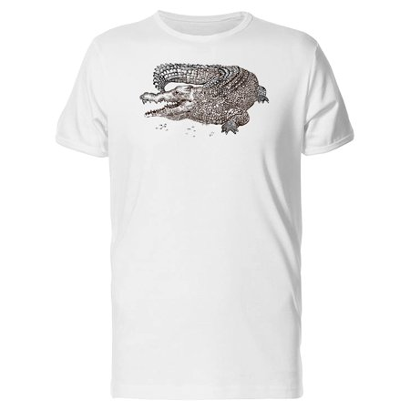 Crocodile Short (Crocodile With Large Scales Tee Men's -Image by Shutterstock)