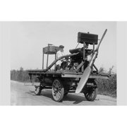 Buy Enlarge 0-587-46248-LP12x18 Wheeled vehicle with mounted propeller- Paper Size P12x18