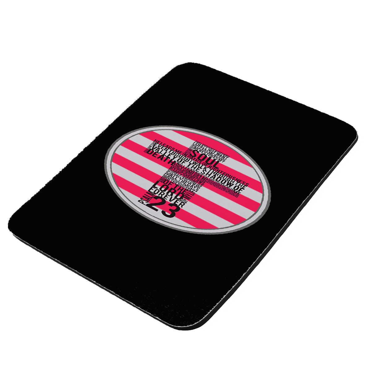 American Flag Lords Prayer - KuzmarK Mousepad / Hot Pad / Trivet