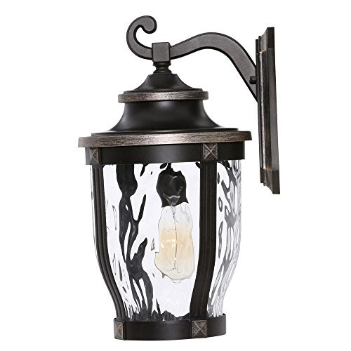 Home Decorators Collection McCarthy 1 Light Bronze Outdoor Wall Mount