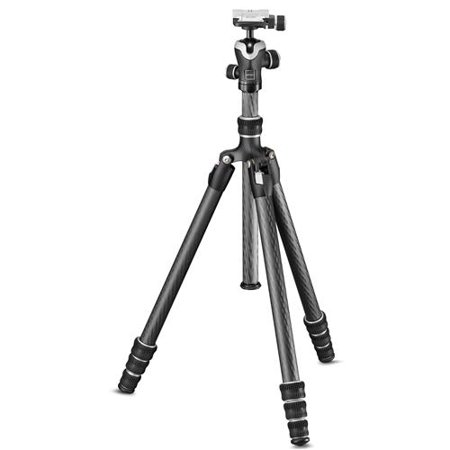 Gitzo Carbon Fiber Traveler Series 1 Tripod Kit with Head for Sony a7 & a9 Camera Models, 4 Sections