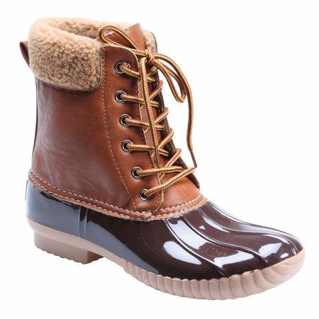 Womens Avanti Jango Lined Duck Style Rain Boots