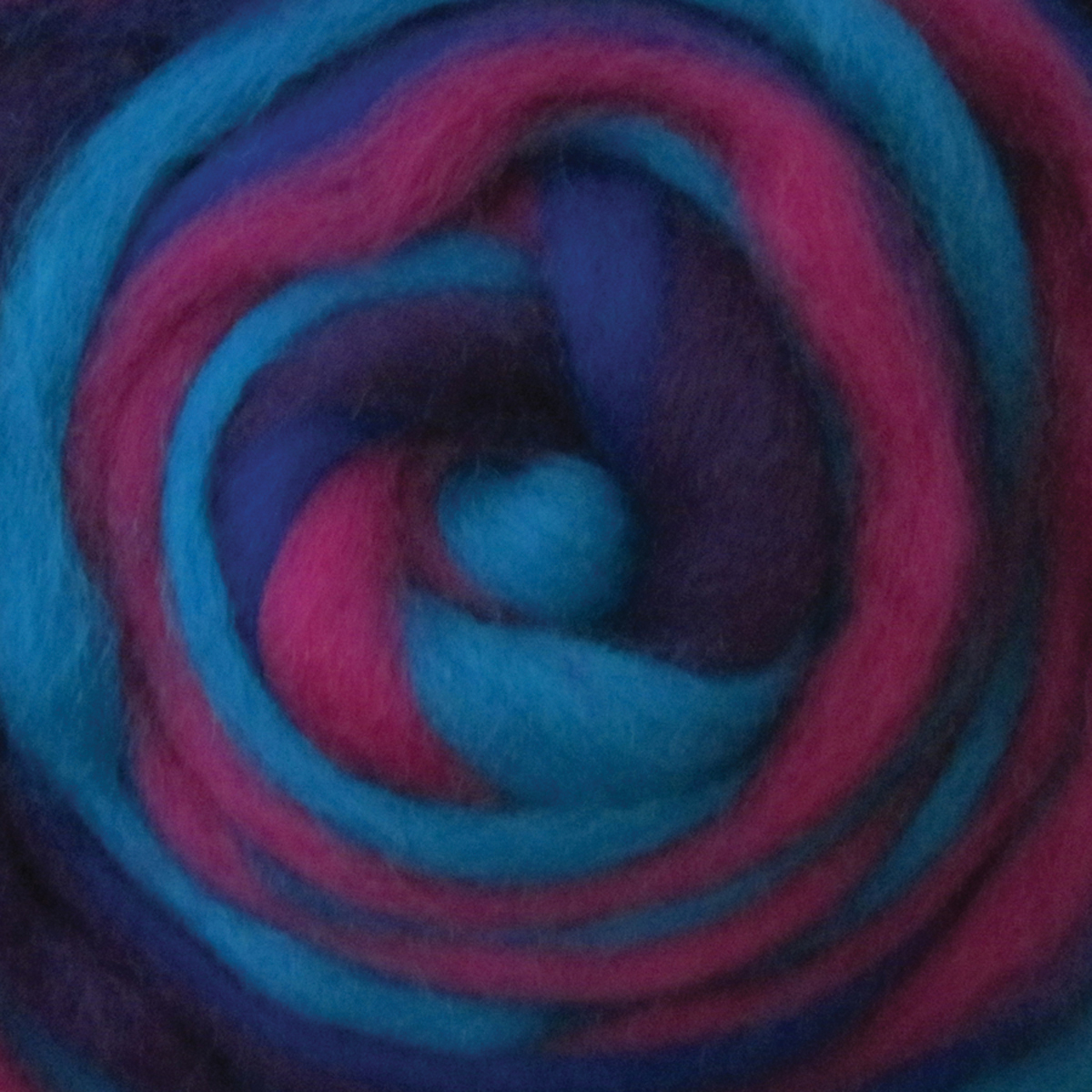 """Wistyria Editions Wool Roving Stripe 12"""" .25oz-Jester"""