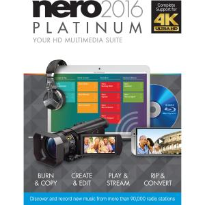 Nero 2016 Platinum - CD/DVD Authoring - 10 - Box - Retail - PC