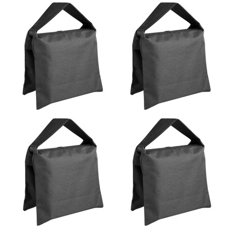 Stand Sandbags (Neewer Heavy Duty Photographic Sandbag Studio Video Sand Bag for Light Stands, Boom Stand, Tripod -4 Packs)