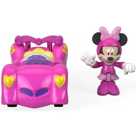 Disney Mickey Mouse and the Roadster Racers -2-in-1 Pink (1928 Ford Model A Roadster)