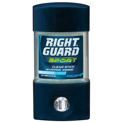 Right Guard: Sport Clear Cool Anti-Perspirant/Deodorant, 2 oz