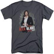 Criminal Minds Alex Blake Mens Big and Tall Shirt