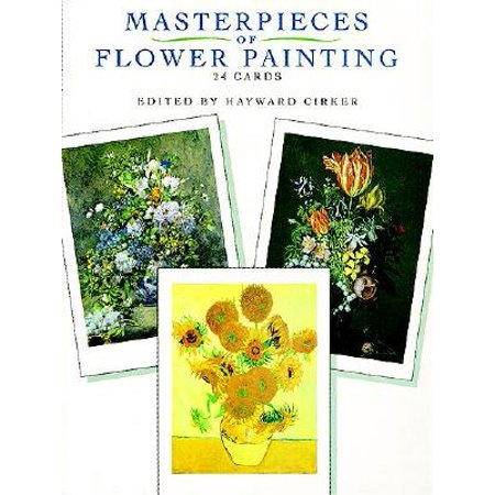 Masterpieces of Flower Painting : 24 Cards (Painting Card)