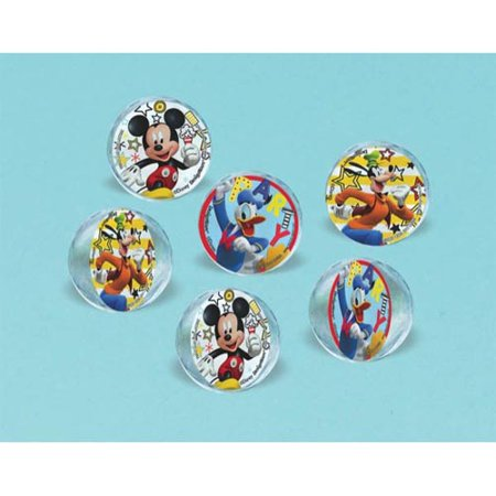 - Mickey Mouse 'On the Go' Bounce Balls / Favors (6ct)