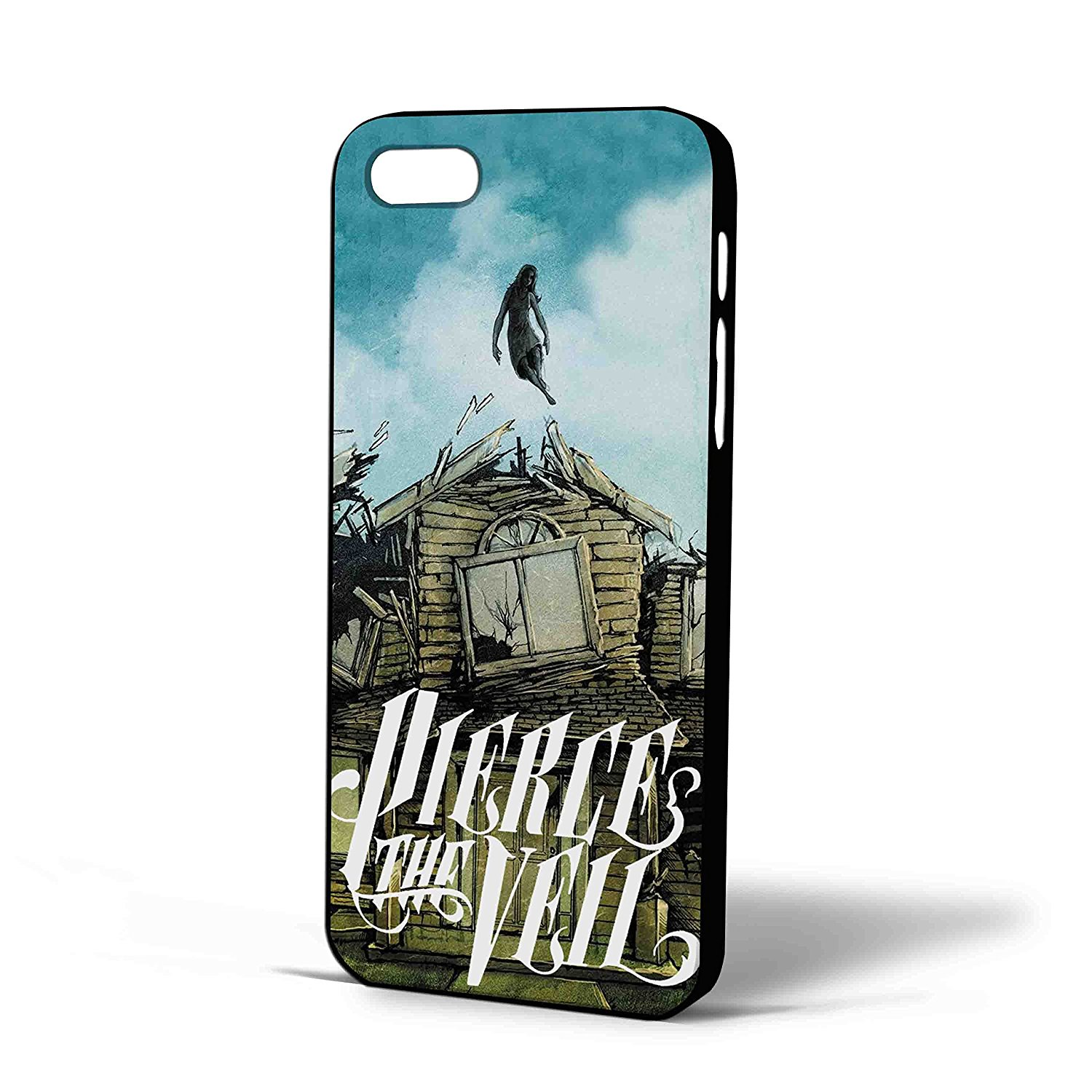 Ganma Pierce the Veil Cover Album Lyric Quote Case For iPhone Case (Case For iPhone 6 white)