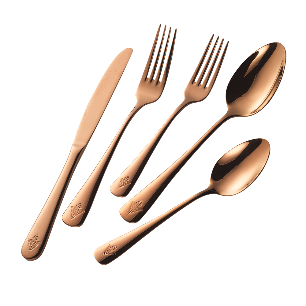 DC Comics Wonder Woman 5-Piece Rose Gold Flatware Cutlery Set