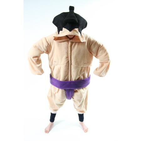 BCozy Kigu Unisex Animal Costume Pajama Onsie Adult: Sumo
