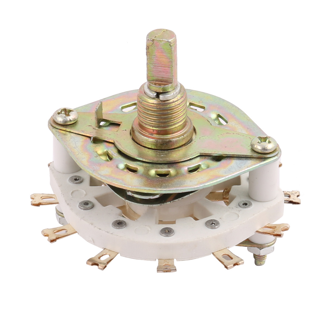 KCT2*5 2 Pole 5 Position 12 Terminal Band Channel Rotary Selector Switch