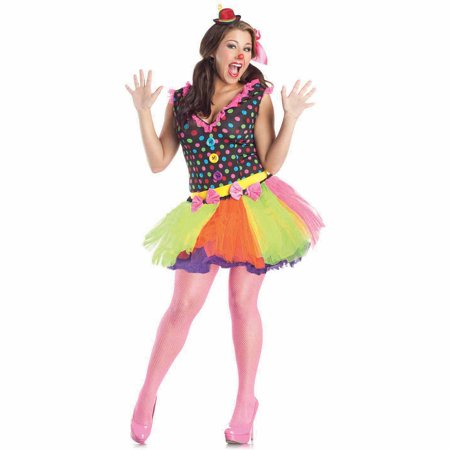 Clowning Around Plus Size Adult Halloween Costume