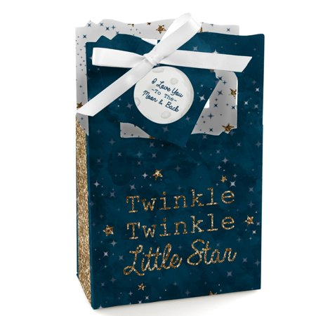 Twinkle Little Star - Baby Shower or Birthday Party Favor Boxes - Set of - Twinkle Twinkle Little Star Party Theme