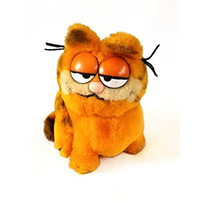 Garfield Vintage 1981 7 Inch Plush Stuffed Toy By Dakin Walmart Com
