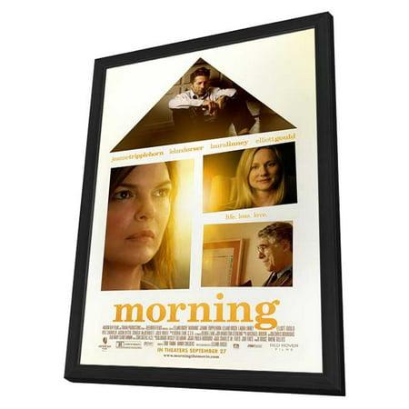 Morning  2010  11X17 Framed Movie Poster