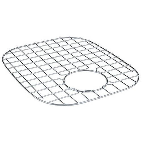how to clean sink bottom grids
