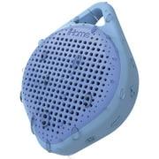 iHome iBT15LLC Splashproof Bluetooth Rechargeable Speaker with Speakerphone, Blue