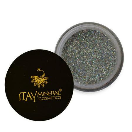 Itay Mineral Cosmetics Eye Shadow Glitter Silver Sparkle  - Cosmetics Sparkle