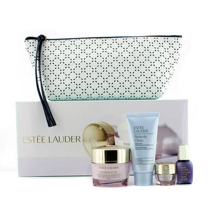 Estee Lauder - Votre système complet- résilience visage et du cou Crème 50 ml Perfectionniste Sérum 15ml 5ml Crème contour