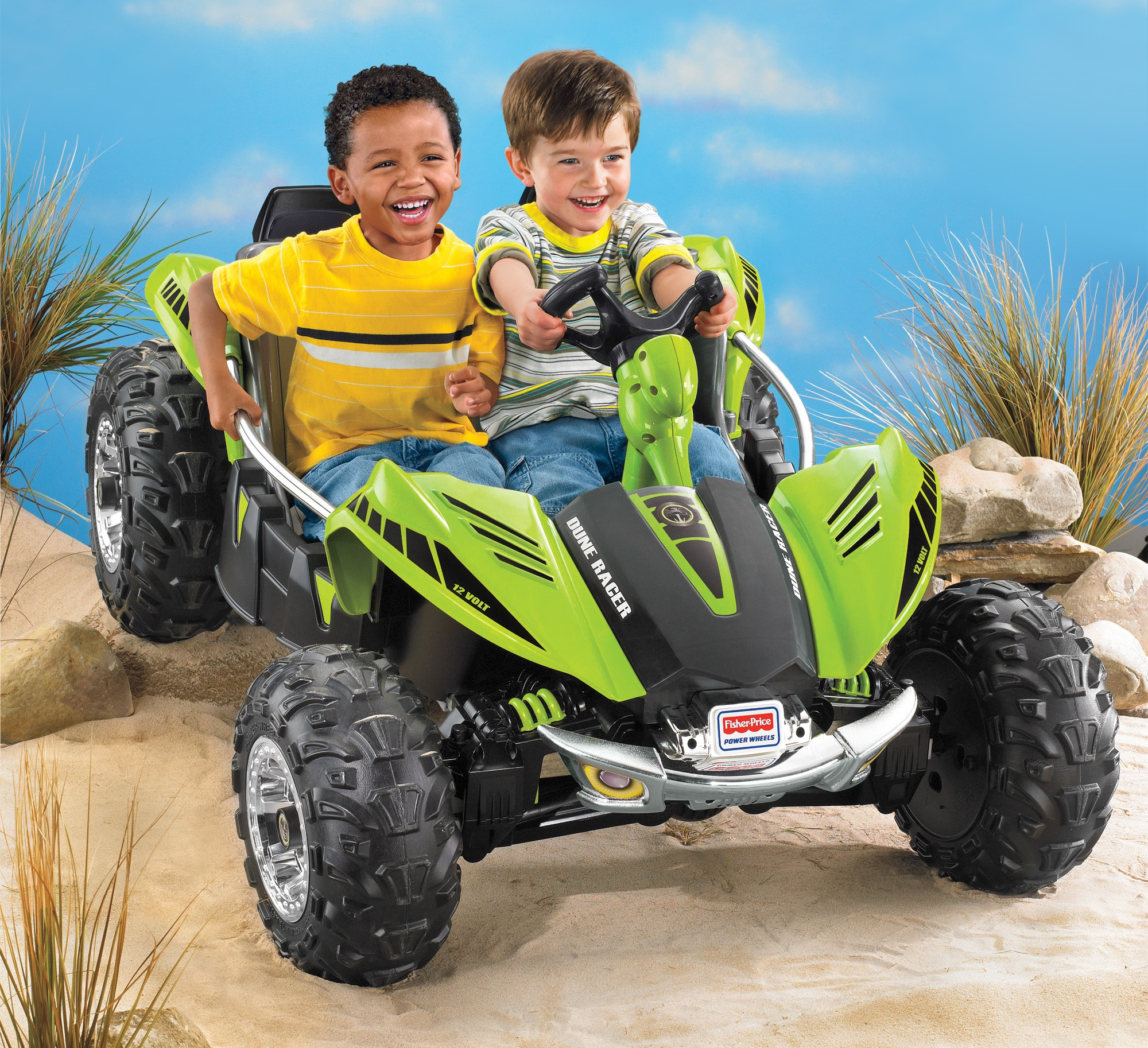 Power Wheels Dune Racer 12-Volt Battery-Powered Ride-on