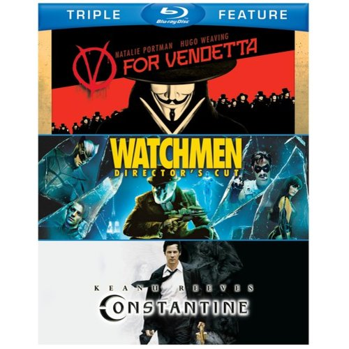 V For Vendetta / Watchmen / Constantine (Blu-ray)