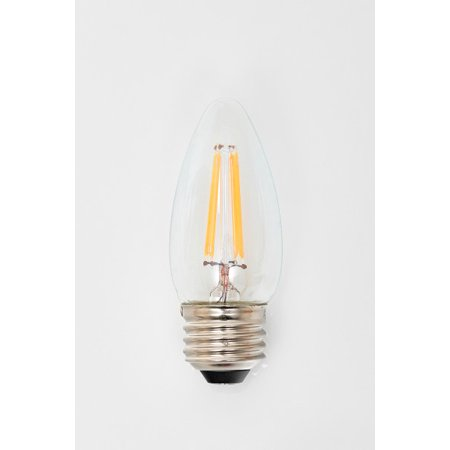 Lighting Science Led Filament Light Bulb B11 Soft White 25we E26 Base 3 Ct