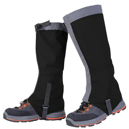Funcee Waterproof Mountain Hiking Hunting Boot Gaiters Snow Snake High Leg Shoes Cover (Gtx Gaiters)