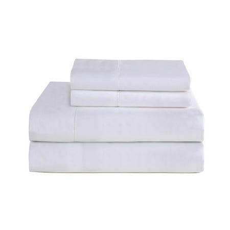 Pointehaven 794 Pima Sateen 800 Thread Count 100pct Cotton Deep Pocket Luxury Sheet Set