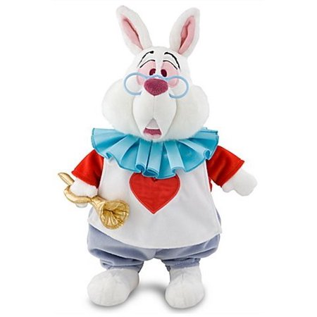 Disney Alice In Wonderland Exclusive 15 Inch Deluxe Plush Figure White Rabbit - Rabbit In Alice In Wonderland