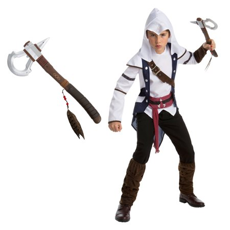 Assassin's Creed: Connor Teen Costume Bundle Kit - X-Large