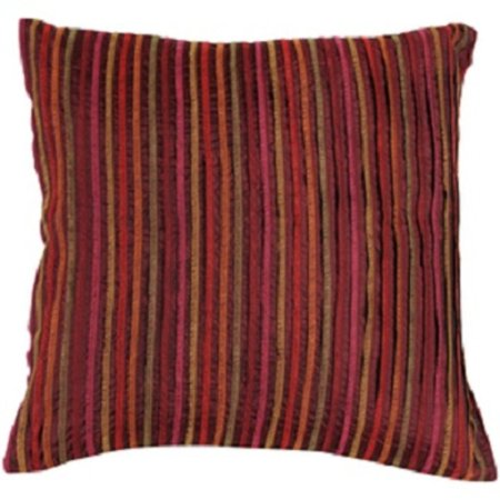 22 multicolored stripes brown orange and red decorative square throw pillow. Black Bedroom Furniture Sets. Home Design Ideas