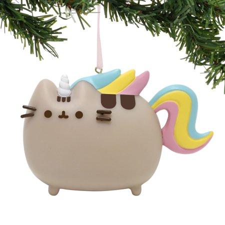 Enesco - Department 56 - Pusheen Magical Unicorn PVC Hanging Ornament, 2.75 inch