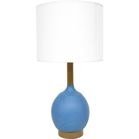 Acrylic Modern Table Lamp - Mainstays Modern Table Lamp, Blue
