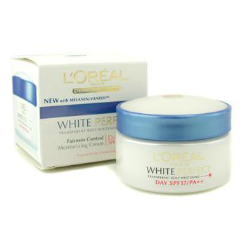 Control Creme - L'oreal Dermo-Expertise White Perfect Fairness Control Moisturizing Cream Day Spf17 Pa+++  50ml/1.7oz