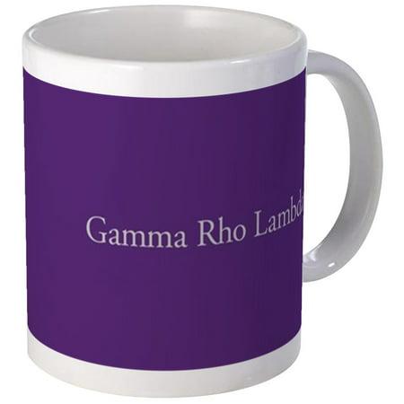 CafePress - Gamma Rho Lambda Letters Mug - Unique Coffee Mug, Coffee Cup