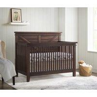Oxford Baby Rhinebeck 4-in-1 Convertible Crib, Farmhouse Brown