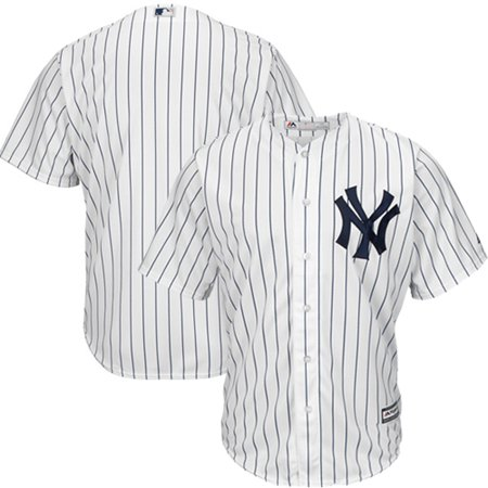 New York Yankees Majestic Official Cool Base Jersey - White