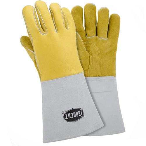 """IRONCAT Welding Gloves,Stick,14"""",XL,PR 9060/XL"""