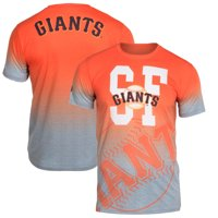 San Francisco Giants Klew Gradient Sublimated T-Shirt - Gray