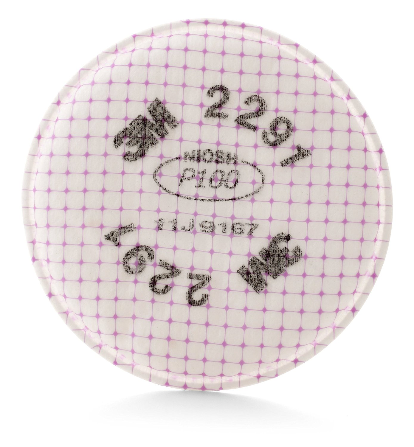 3M 17170 Advanced Particulate Filter 2291, P100 Respiratory Protection (Pack of 2)