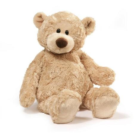 Gund Manni Beige Teddy Bear Stuffed Animal, 16 inches
