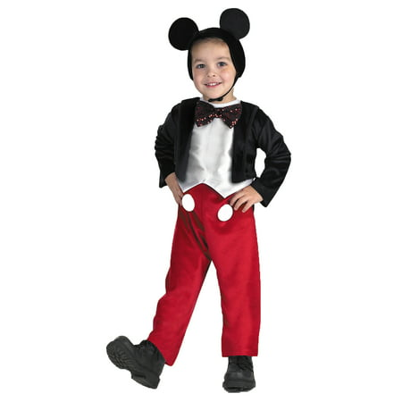 MICKEY MOUSE DELUXE 4 TO 6 - Mickey Mouse Coustume