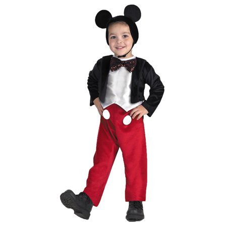MICKEY MOUSE DELUXE 4 TO 6 - Adult Mickey Mouse Halloween Costume